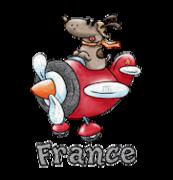 France - DogFlyingPlane