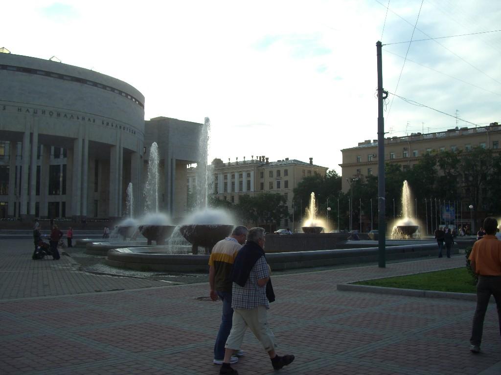 Abendspaziergang durch Petersburg