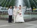 Brautpaar am Moskovskaya-Platz