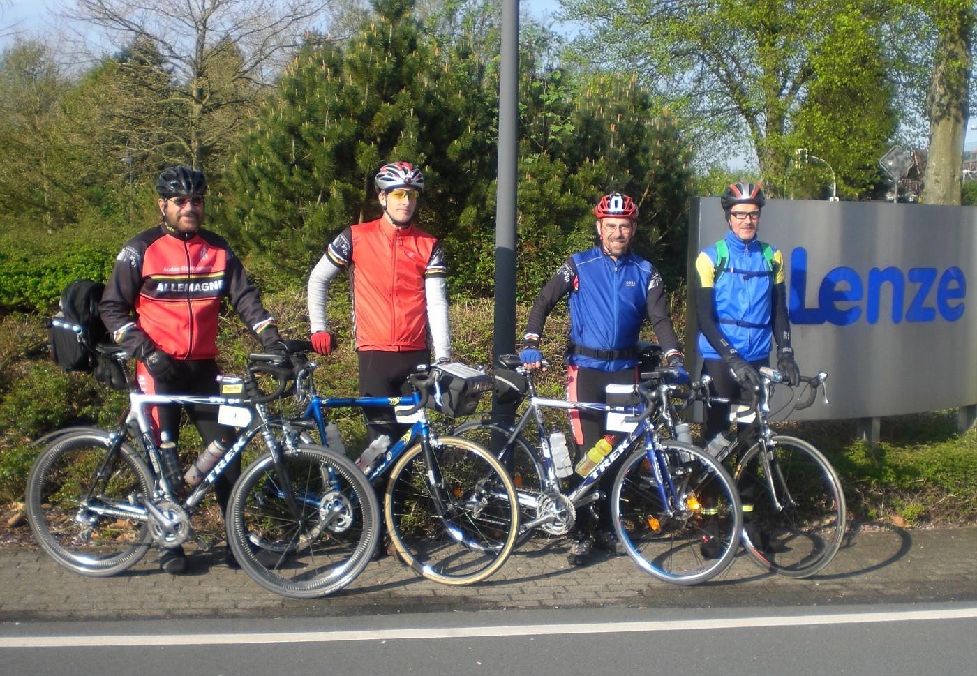 Fleche2008 Team18 1 Start