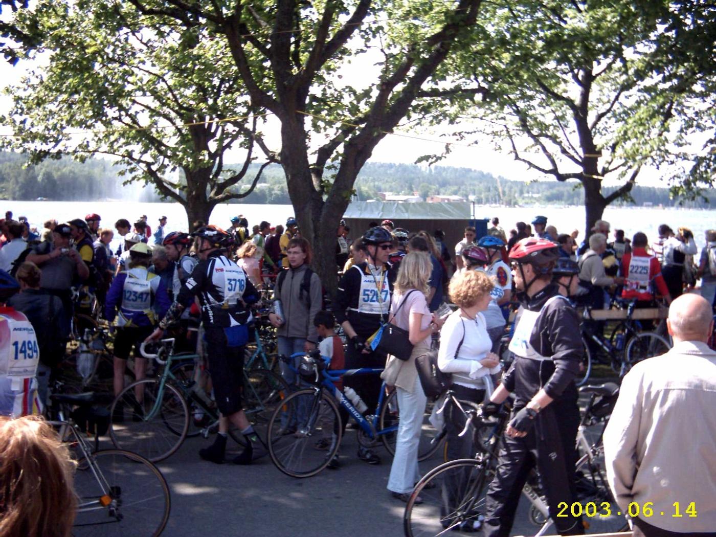 Volksfest am Vätternsee