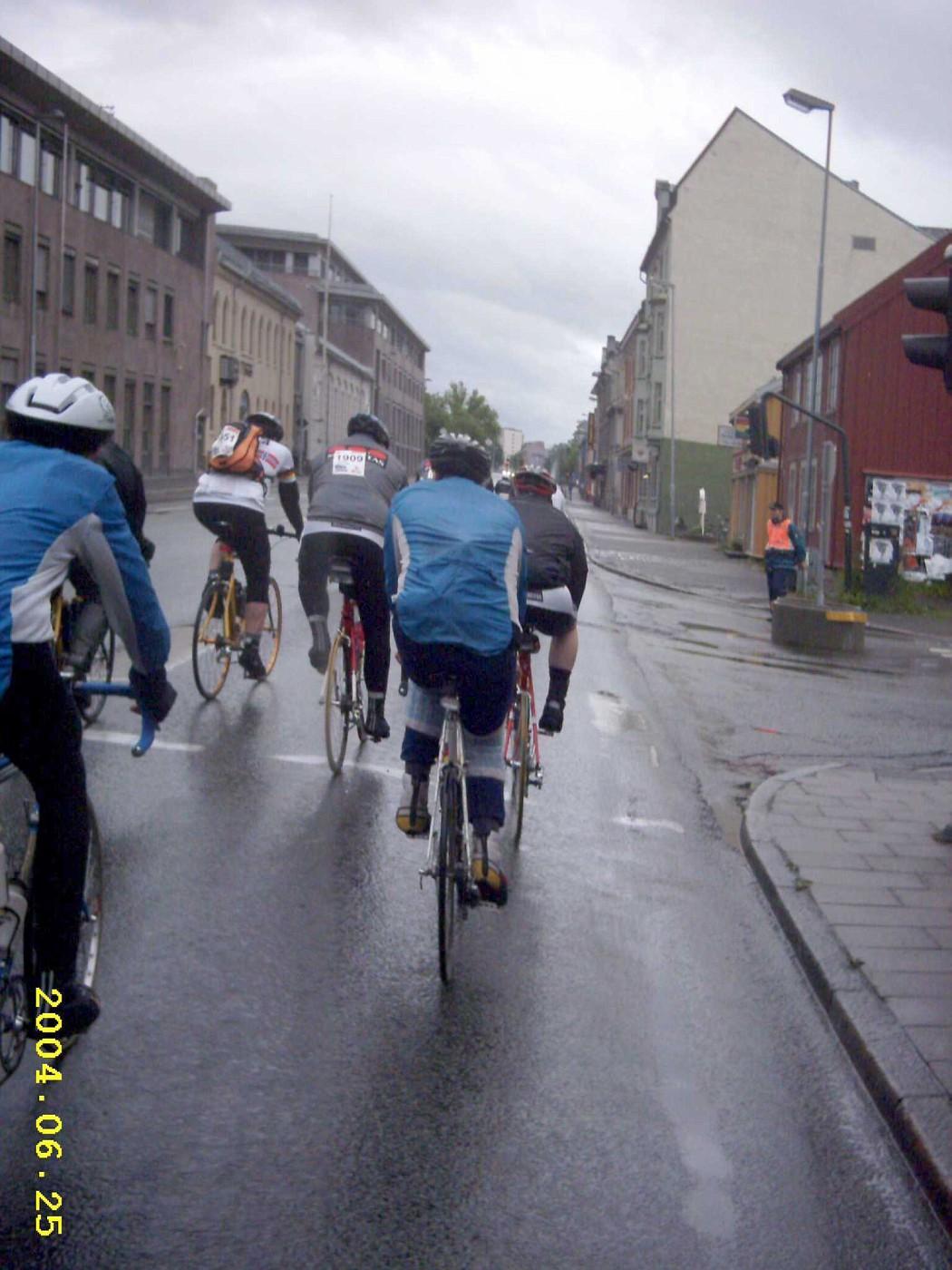 En route: Trondheim