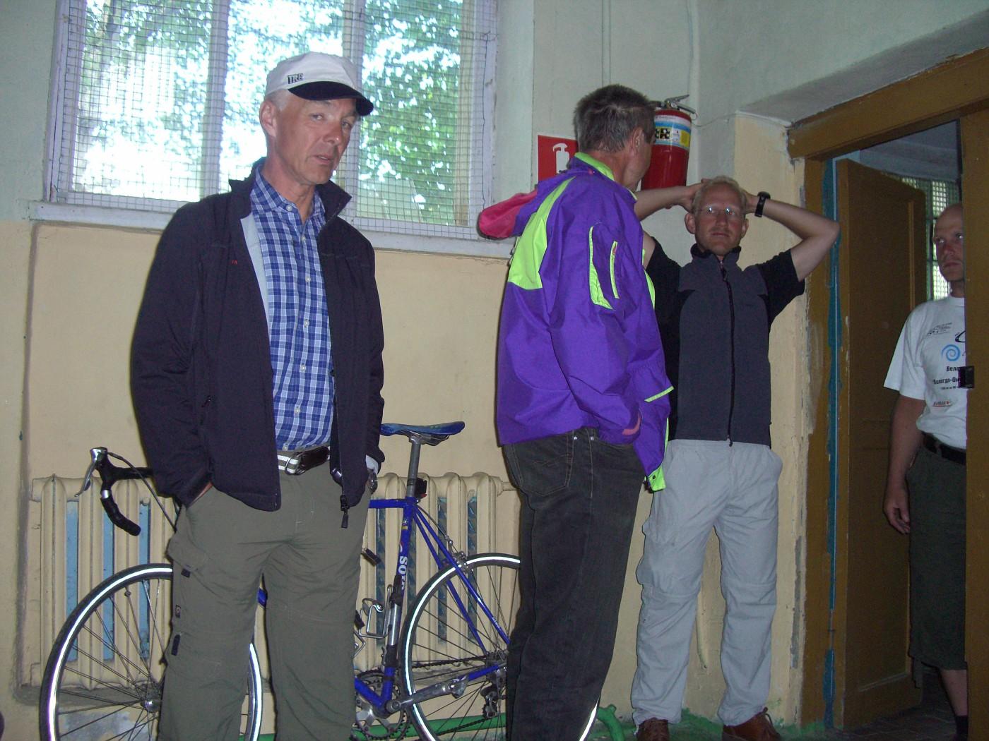 Jörg, Norbert, Michael & Tom geduscht