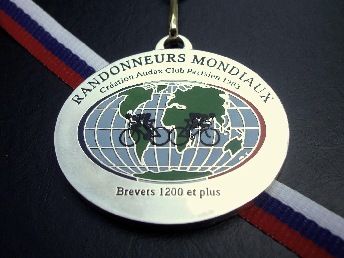 Manfred's medal, frontside