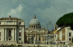 DSC2310 Рим Витикан Собор святого Петра Rome Eternal City Vatican Saint Paul's Cathedral