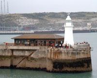 Dover fishing pier