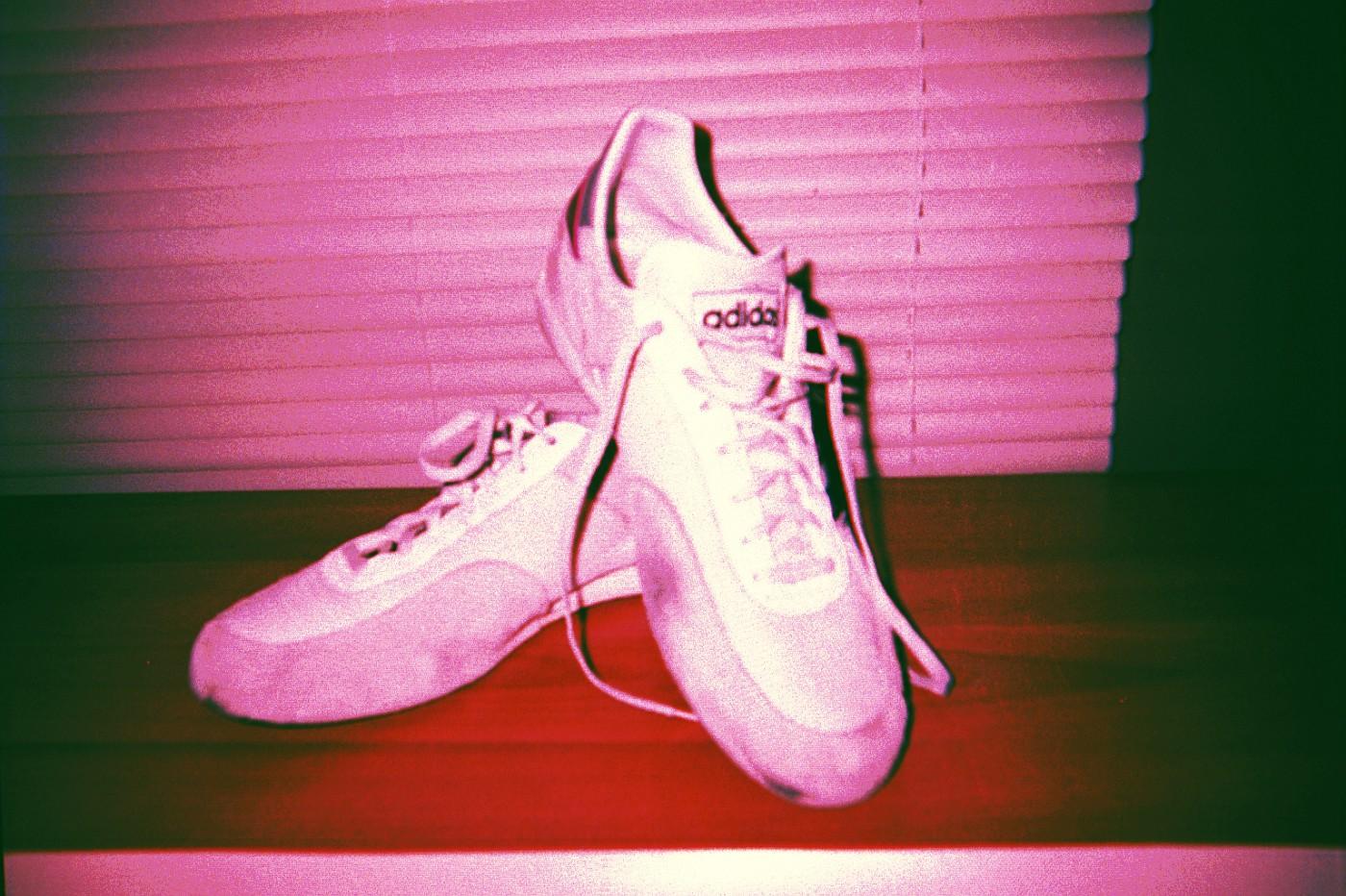 My Pride - Original 1985 adidas fencing shoe