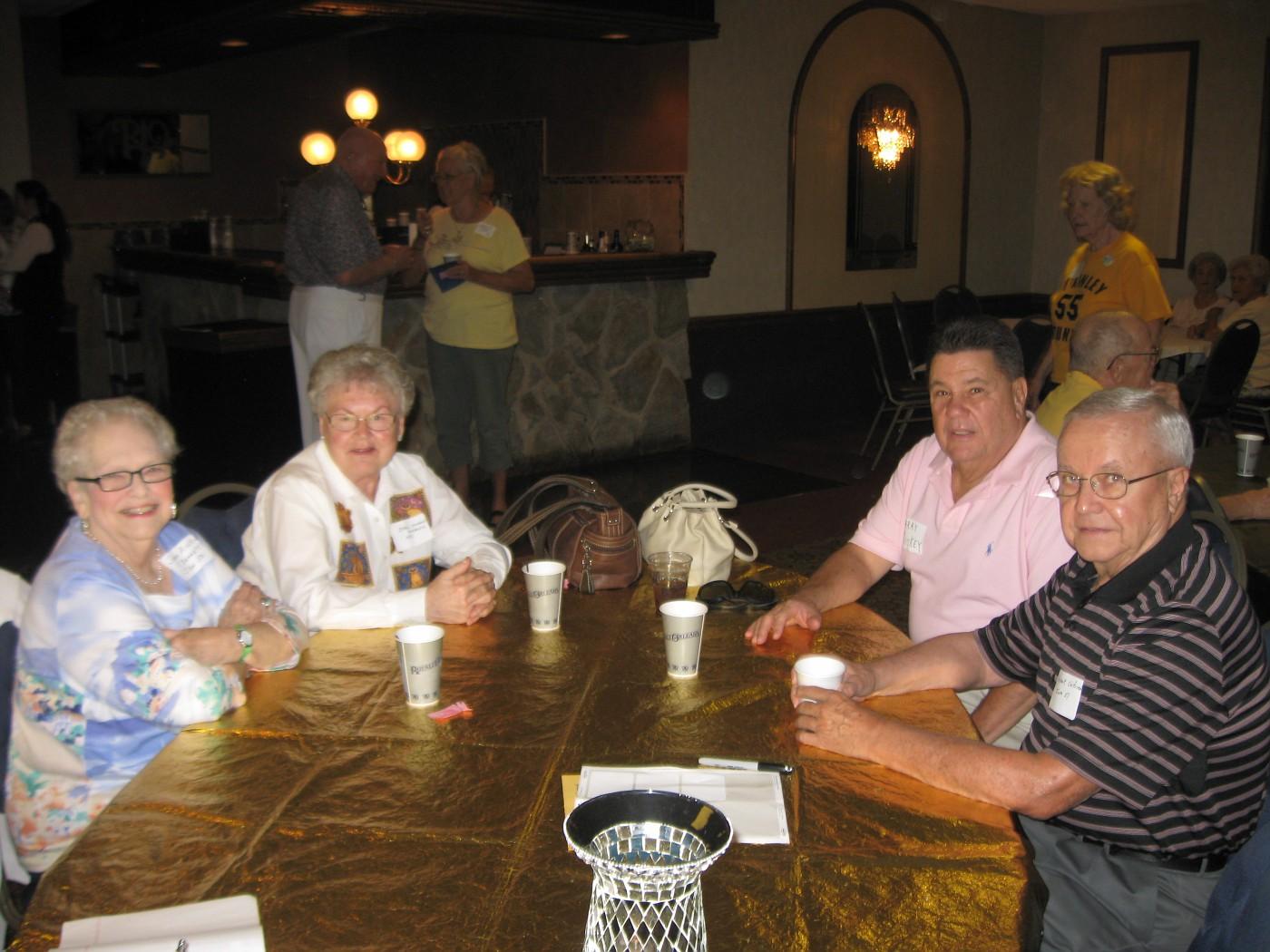 Joan Bennett, Opal Maricic, Larry Mickey and Bob Seifried