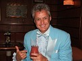Liberace orders a cocktail