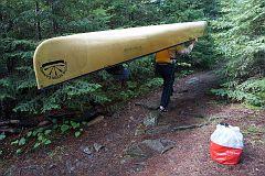 Portage from East Bearskin Lake