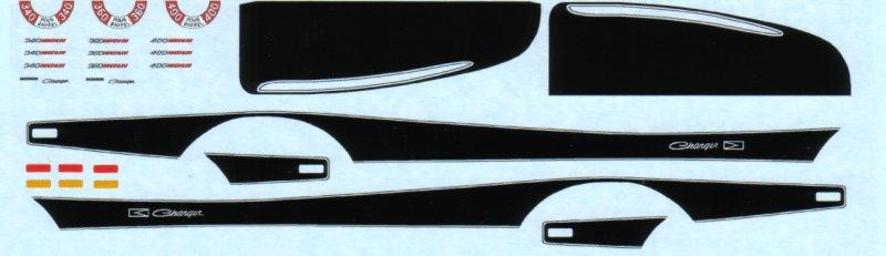 73 Charger Rallye Black A