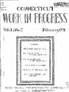 000 - WPA WORK IN PROGRESS - VOL 1 - NO 3