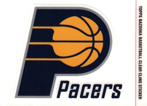2005-06 Bazooka Cling Indiana Pacers