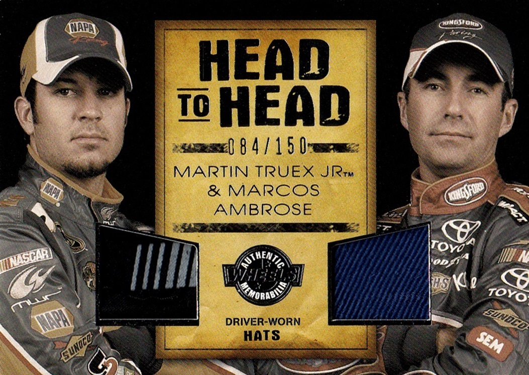 2010 Wheels Main Event Head to Head Martin Truex Jr -Marcos Ambrose (1)