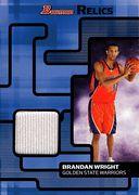 2007-08 Bowman Relic Brandan Wright (1)