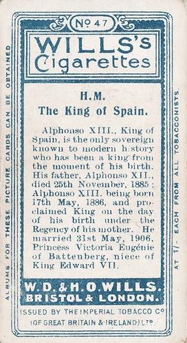 1908 Wills European Royalty #047 (2)