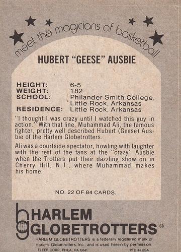 1971-72 Fleer #22 (2)