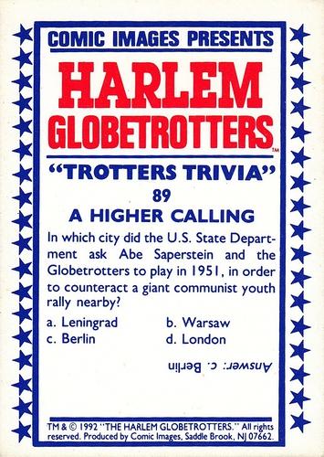 1992 Harlem Globetrotters #89 (2)