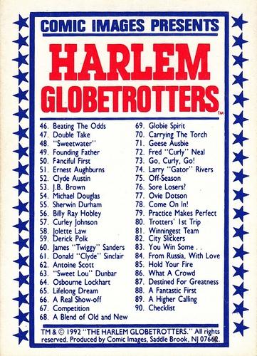 1992 Harlem Globetrotters #90 (2)