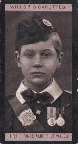 1908 Wills European Royalty #009 (1)