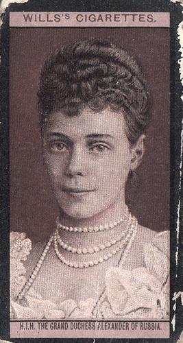 1908 Wills European Royalty #071 (1)