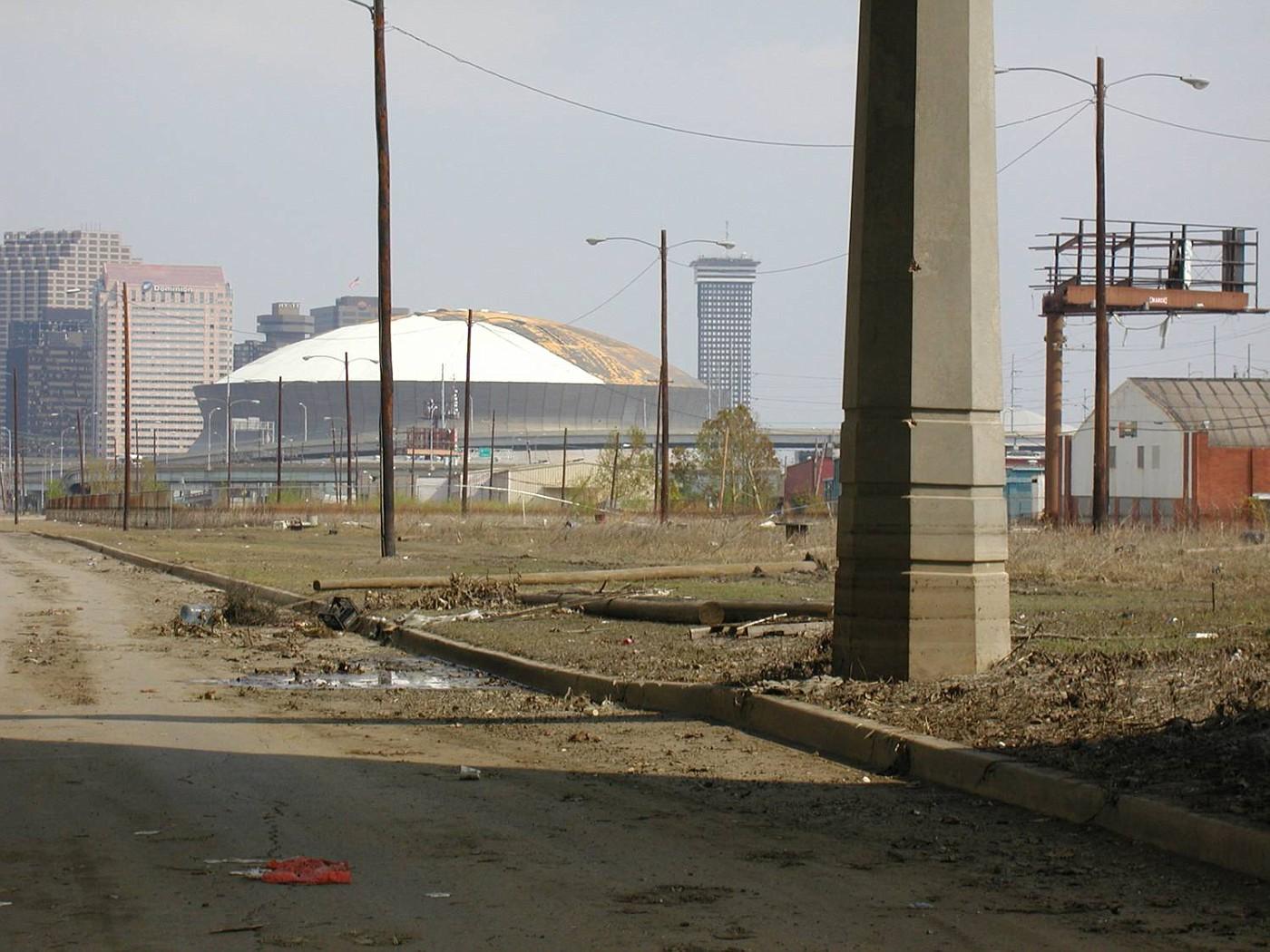 NO Damage to Super Dome