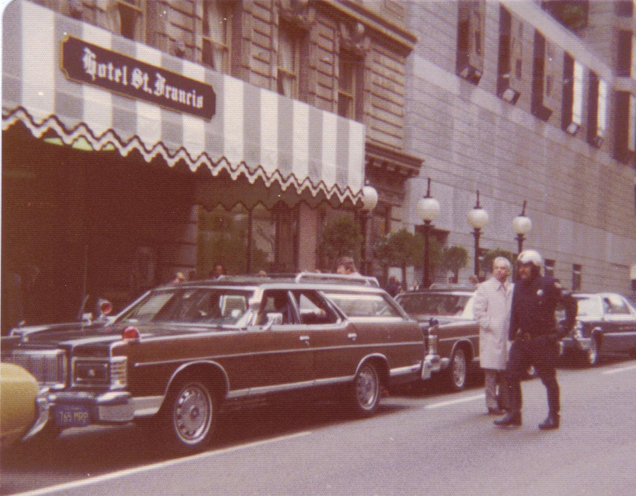 US - Secret Service Mercury wagon