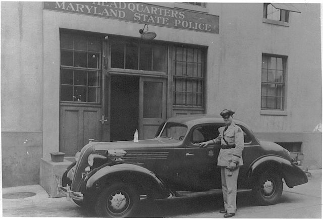 MD - Maryland State Police 1935