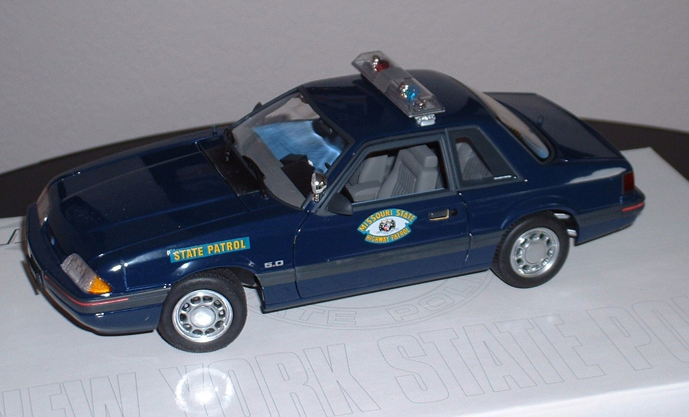 Missouri State HP Mustang