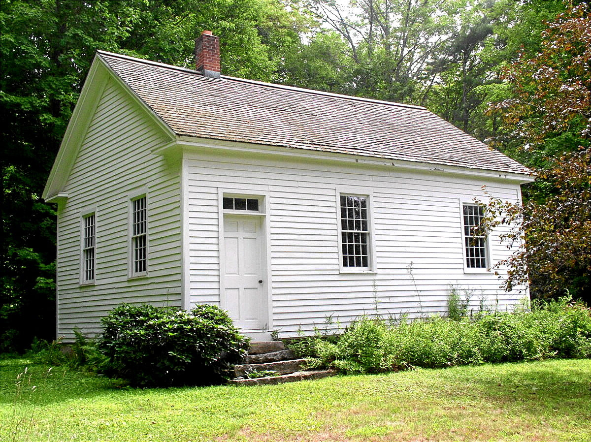 BARKHAMSTED - CENTER SCHOOL-HOUSE 1821