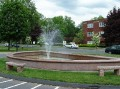 ROCKY HILL - TOWN HALL - FOUNTAIN