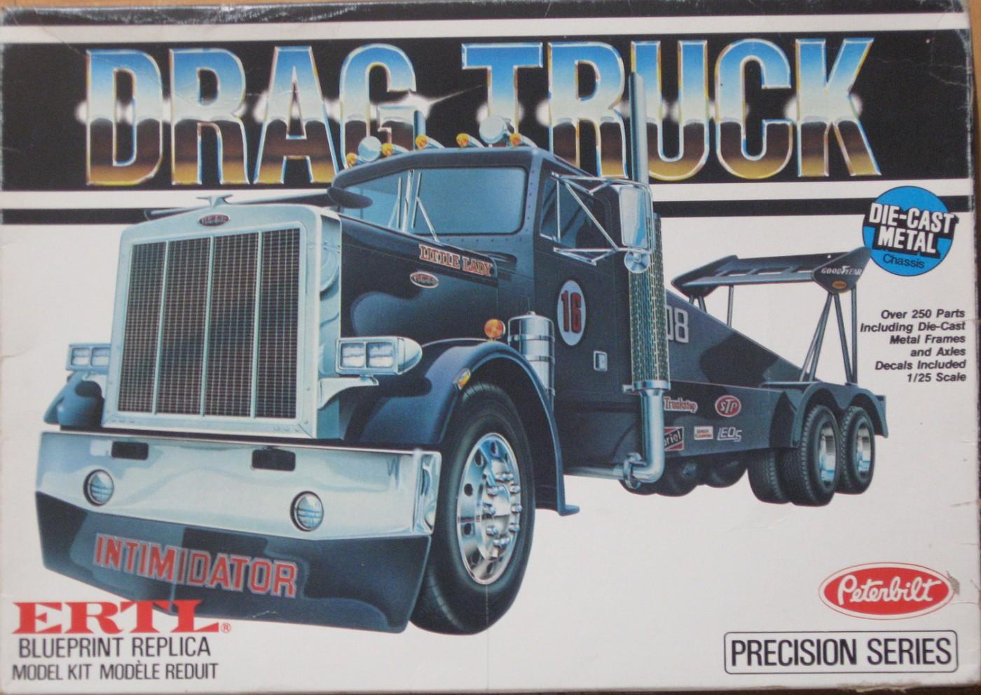 Ertl 8040 Drag truck
