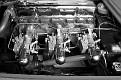09 1954 Chevrolet Corvette engine compartment detail view