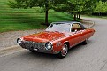 13 1963 Chrysler Ghia Turbine Car horizontal tracking shot 1