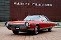 02 1963 Chrysler Ghia Turbine Car front three-quarter view at WP Chrysler Museum