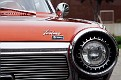 01 1963 Chrysler Ghia Turbine Car front grille and headlight detail
