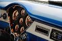 10 1954 Chevy Corvette Nomad recreation instrument panel detail view