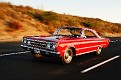02 1967 Plymouth GTX front tracking shot