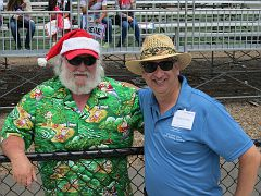 Michael & Santa