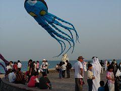 90 foot octopus in Qatar