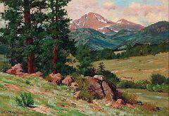 Long's Peak from Estes Park (c.1915)