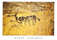 Ethiopia - Lega Oda Rock Paintings