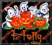 3 Ghosts & pumpkinHolly