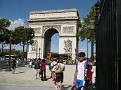 Manfred am Arc de Triomphe