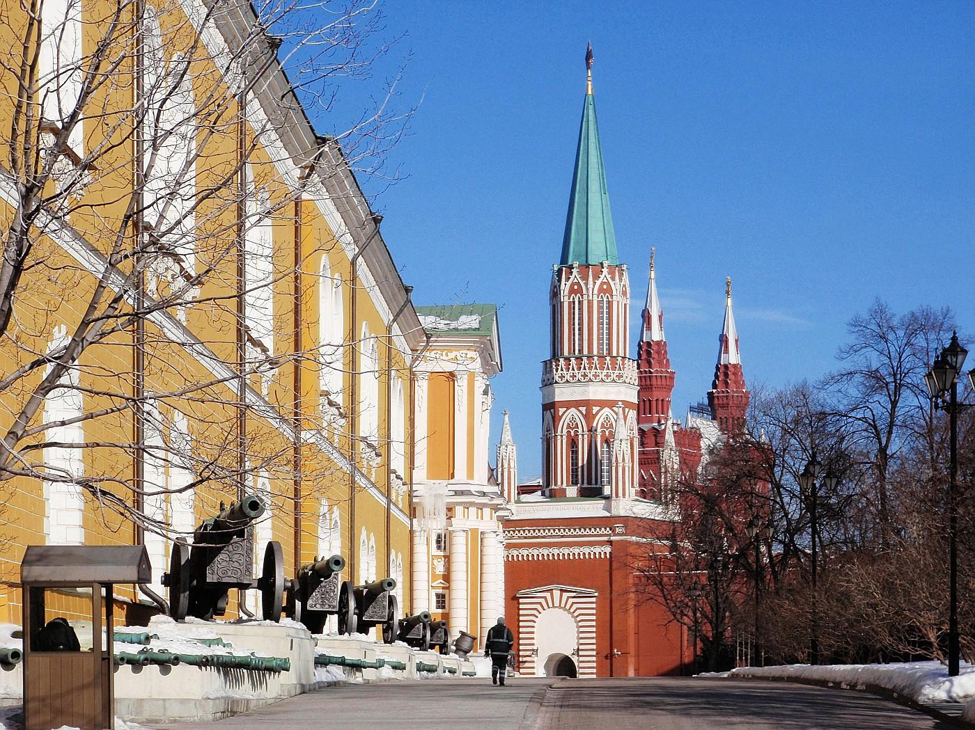 Kremlin Arsenal & Nikolskaya Tower
