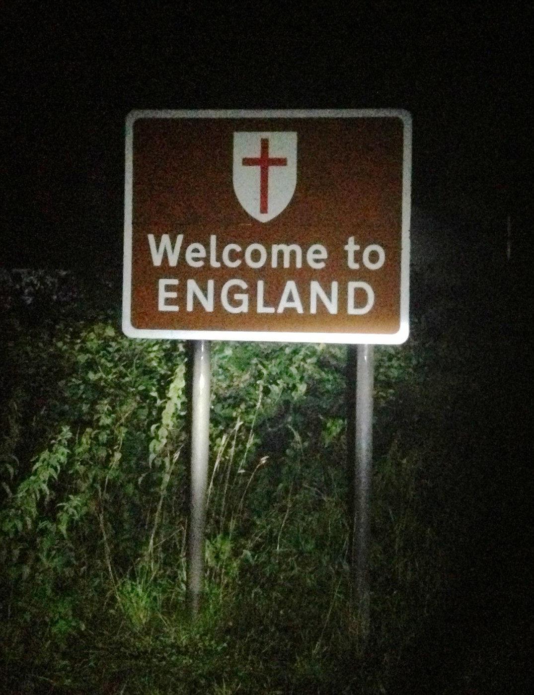 Back in England