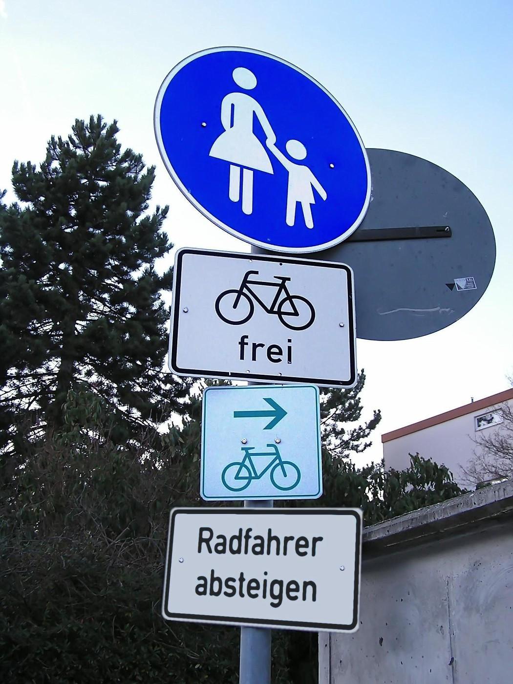 Radfahrer frei! ...oder doch nicht?