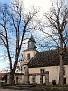 Kriegerdenkmal und Marienkirche