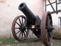 Kanone der Domänenburg