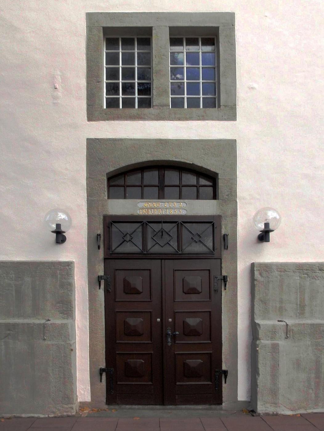 Eingang der Marienkirche